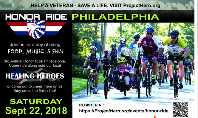 Honor Ride – September 22, 2018
