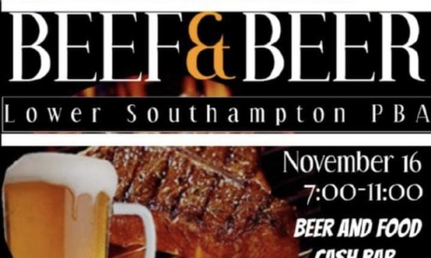 Lower Southampton PBA – Beef & Beer 11/16/18