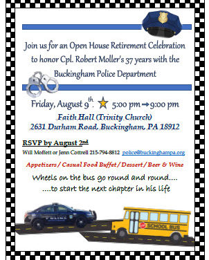 Cpl. Robert Moller's Retirement